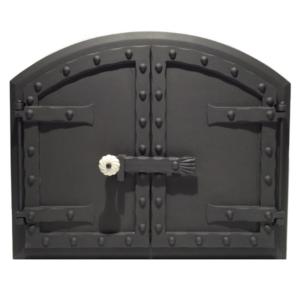 öntvény kemence ajtó